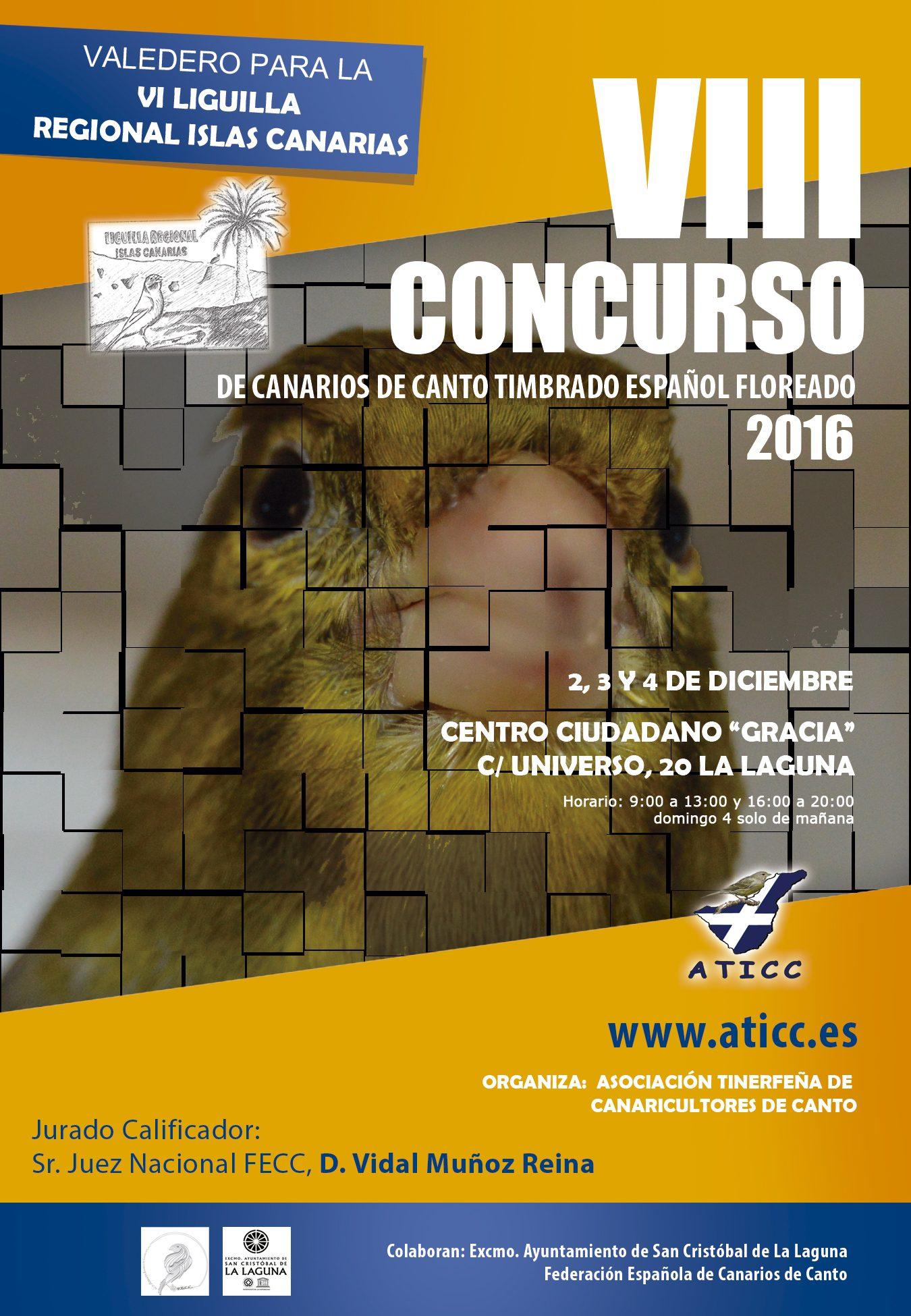 Cartel ATICC 2016